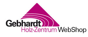 Gebhardt Holz-Zentrum Web Shop Logo
